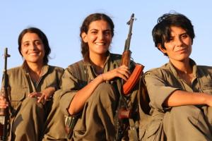 PKK FEMALE FIGHTERS