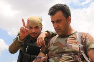 celebrating peshmerga